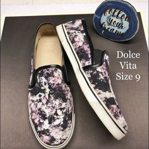 Dolce Vita Floral Loafers